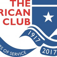 American Club 100 Year Logo