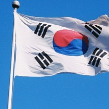 068South Korea flag