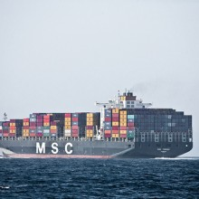 MSC container 1