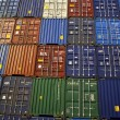 0Stacked containers colourful